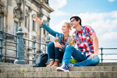 berlin turystow korzystajacych z widoku z