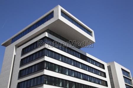 abstract facade of a modern office