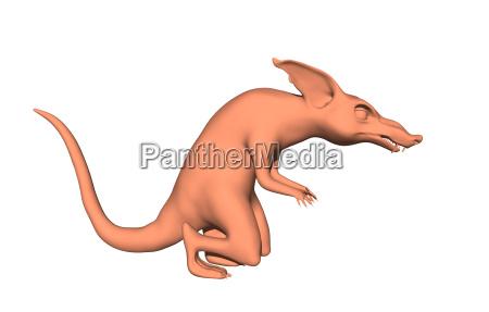 komiks gryzon ogon szkodnik szczur cartoon