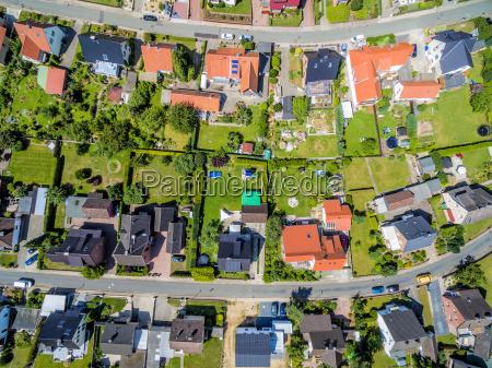 ogrod ogrodek aerial photo zdjecie lotnicze
