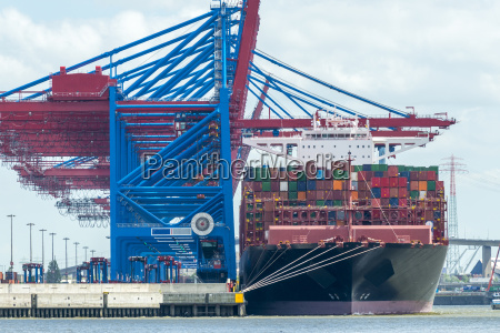 container terminal in hamburg germany