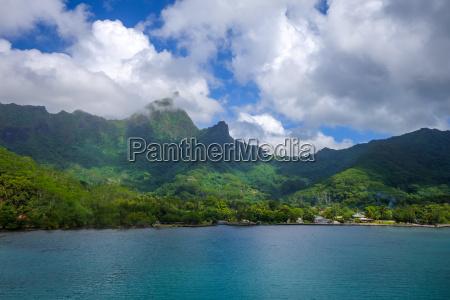 tropikalnych tropikalny tropikalne laguna eiland pejzaz