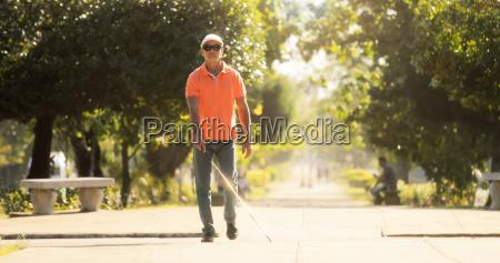 park slepota urojenia droga jezdnia ulica