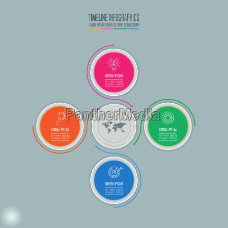 koncepcja tworcza dla infografiki timograf infographic