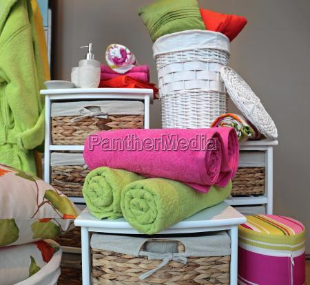 zielony nowy kolorowe kolektora fioletowy rattan