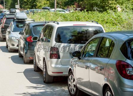 park ruch drogowy transport samochod automobil