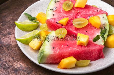 salatka z arbuza