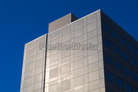 building facade sun light office commercial