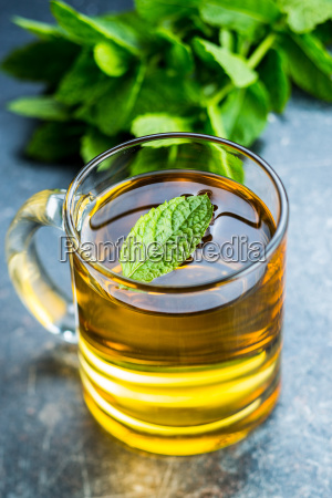 smaczna herbata mietowa