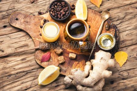 herbata terapeutyczna z imbirem