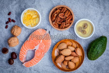wybor zrodel zywnosci omega 3 i