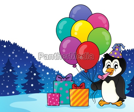 party penguin topic image 2
