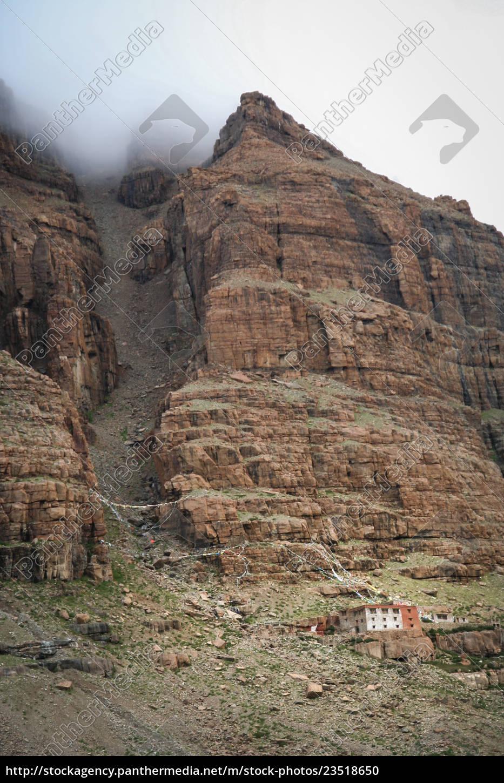 remote, tibetan, monastery - 23518650