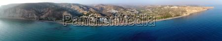 zatoka cypr nad ziemia panoramiczny