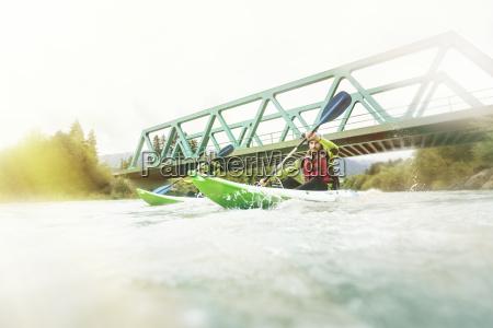 niemcy bawaria allgaeu para kayaking na