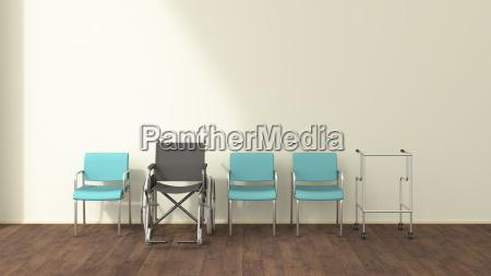 wozek inwalidzki zamawiac kolejnosc umowa ilustracja