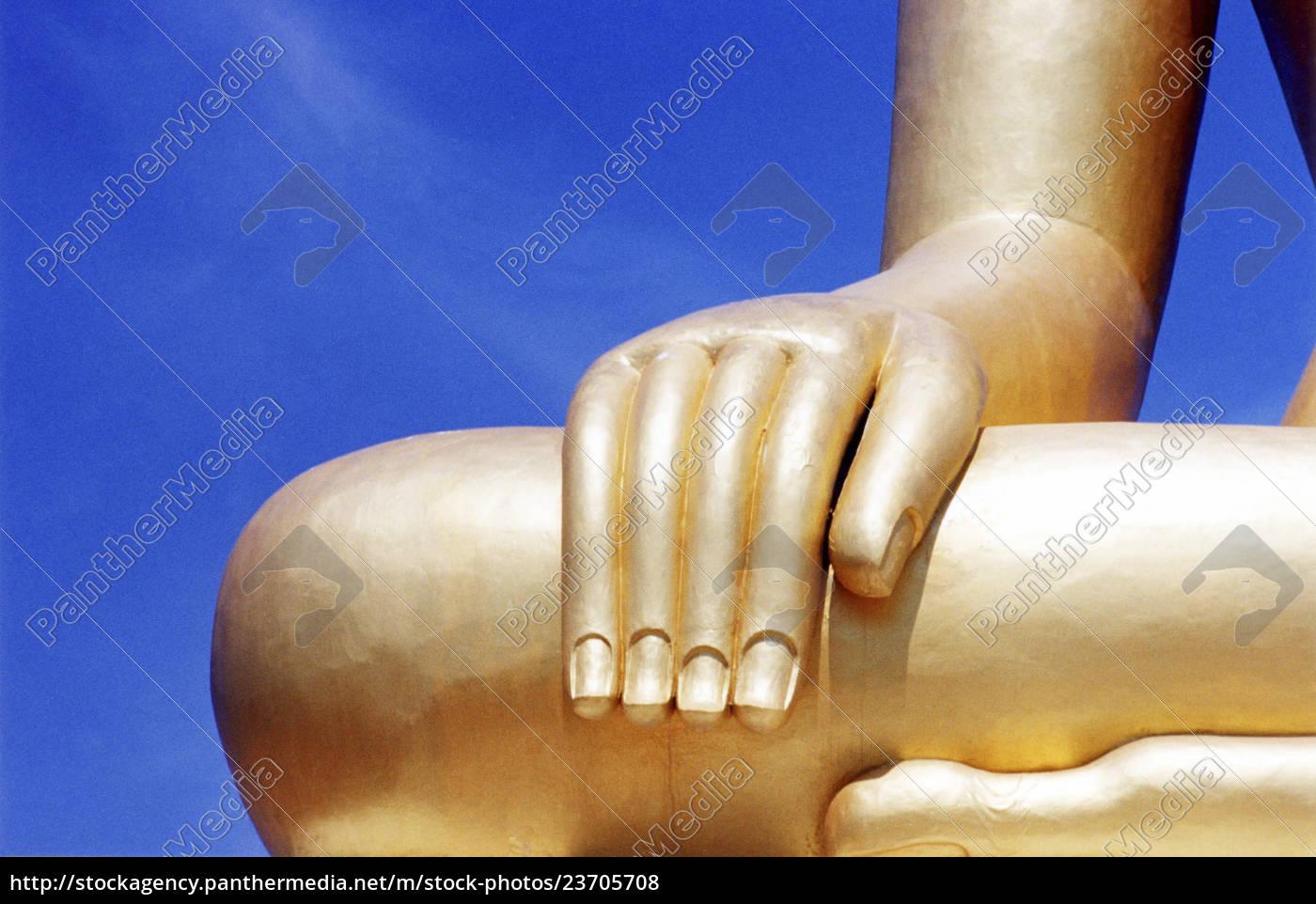 szczegóły, rzeźby, buddy - 23705708