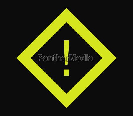ikona znak niebezpieczenstwa
