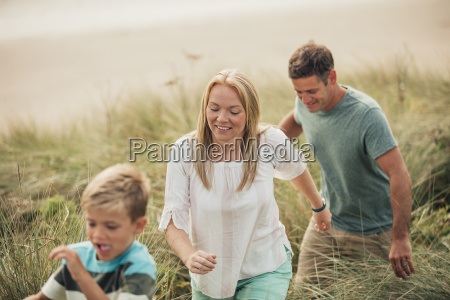 family adventures at the beach