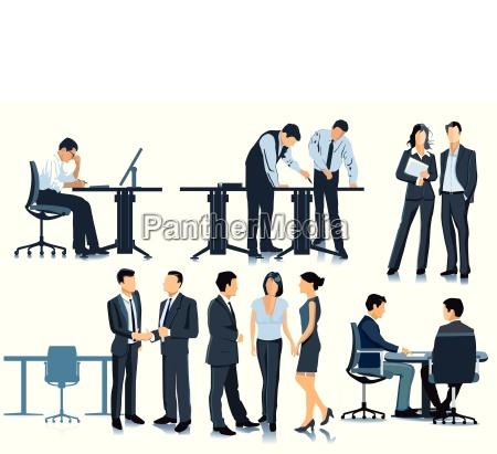 planowanie i spotkania w biurze