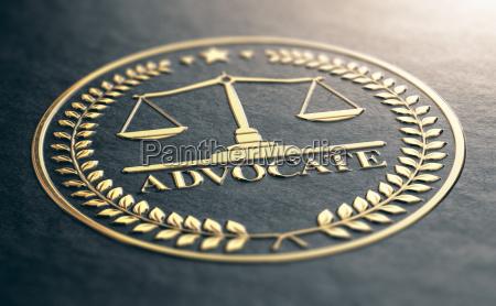 zloty symbol adwokata