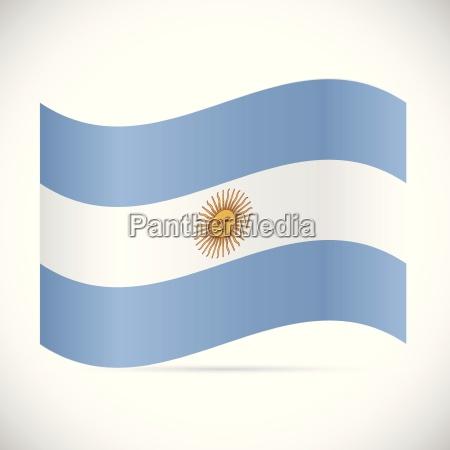 argentina flag illustration