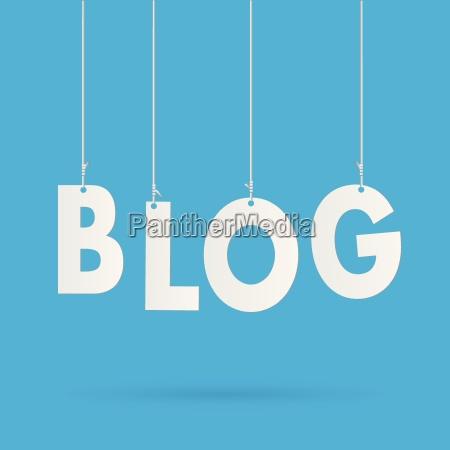blog text illustration
