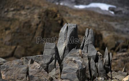 kamien pestka skaly skala mroz przymrozki