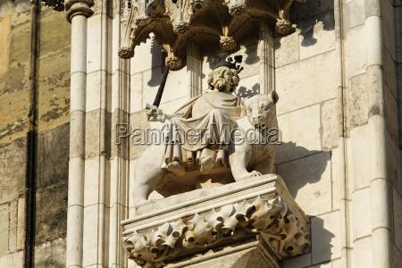 persian monkey cyrus rides on a