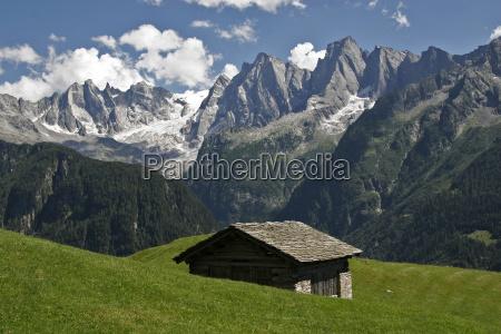 haystack alpine meadows piz badile sciora
