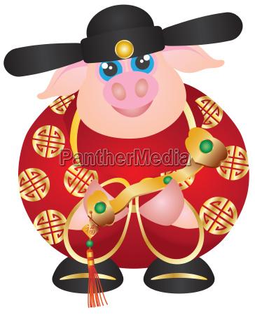 dziczyzna dzika chinczyk chinski znak zodiaku