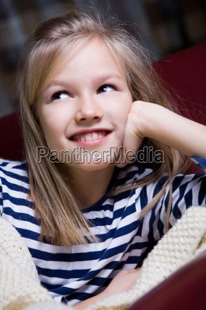 10 year old girl portrait