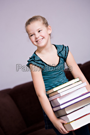 8 year old girl with a