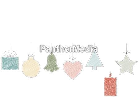 rysunek zielony kolorowe kolektora swieczka adwent