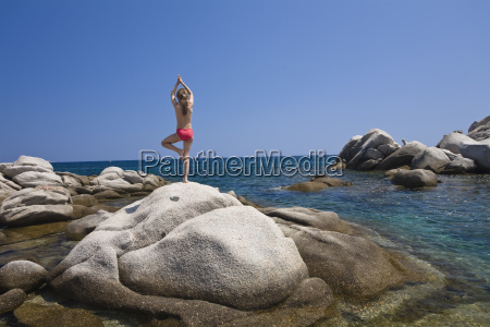7 year old girl doing yoga