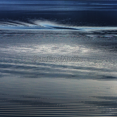 close up detail of blue water