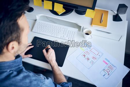 projektant stron internetowych opracowujacy responsywny uklad