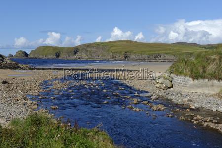 wielka brytania szkocja highland sutherland bettyhill