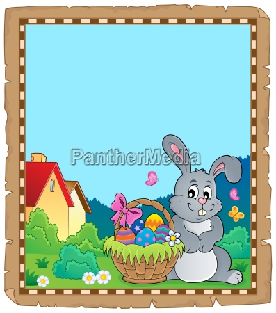 pergamin z easter bunny temat 5