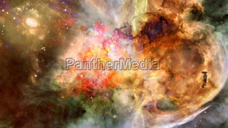 niewielka czesc gwiezdnych pol przestrzeni elementy