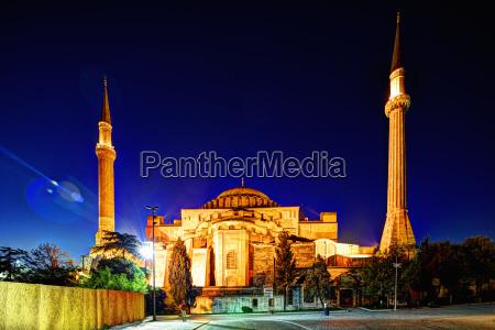 hagia sophia sultanahmet istanbul turkey europe