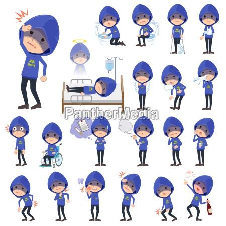 blue parker hacker mensickness