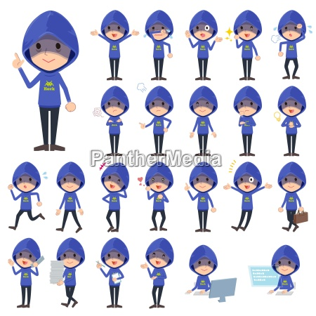 hacker blue parker men1