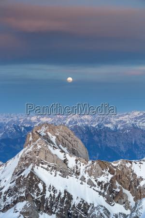 mount santis with view on alpstein