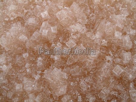 salt crystals at the salt works