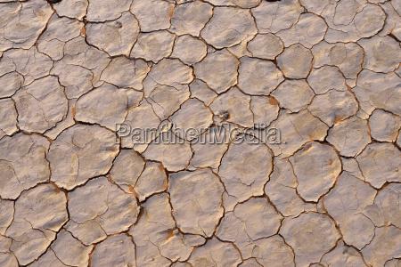 broken surface of a salt and