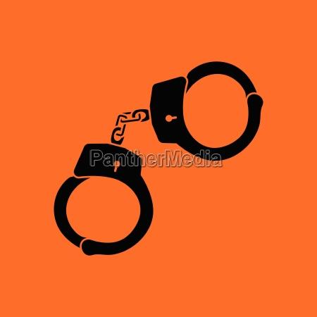 police handcuff icon