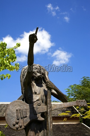 bob marley pomnik christopher gonzales island