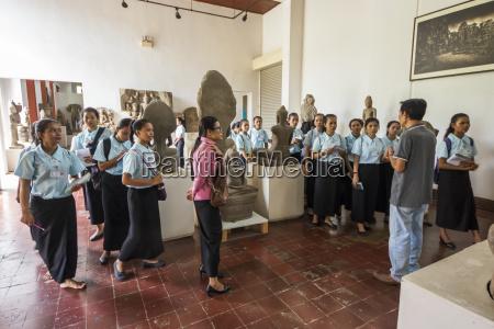school girls in the gallery of