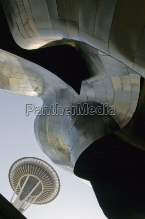 the seattle space needle and the